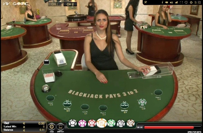 Live Blackjack By Vivo Gaming All Live Table Games